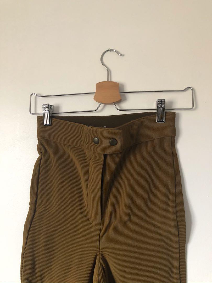 American Apparel Riding Pants (sz. small - safari brown)