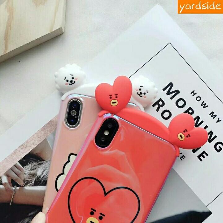 BT21 BTS Blu-Ray Full Soft Silicone Phone Case iPhone