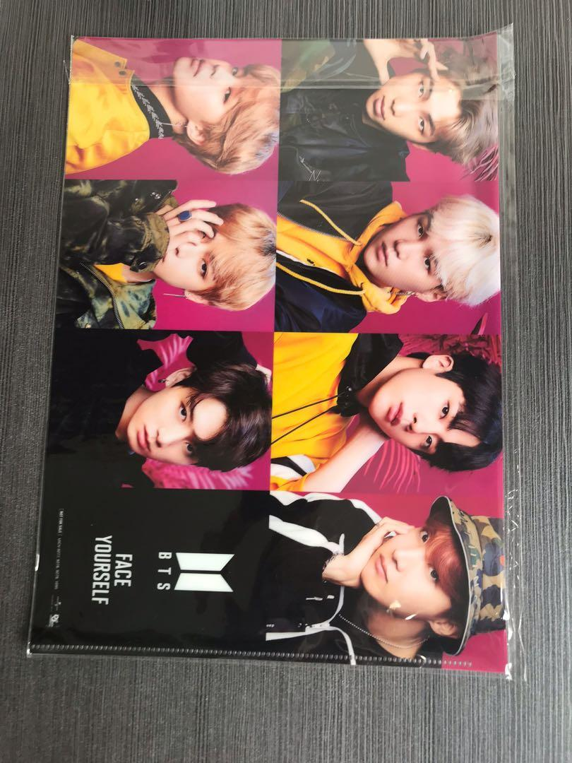 BTS Japan Album 'Face Yourself' Official Paper Holder