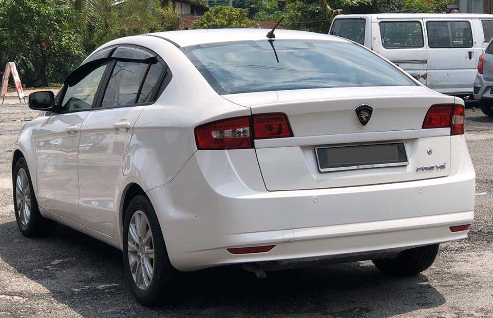 CASH CAR/LOAN  PROTON PREVE 1.6 EXECUTIVE AUTOMATIC 2013