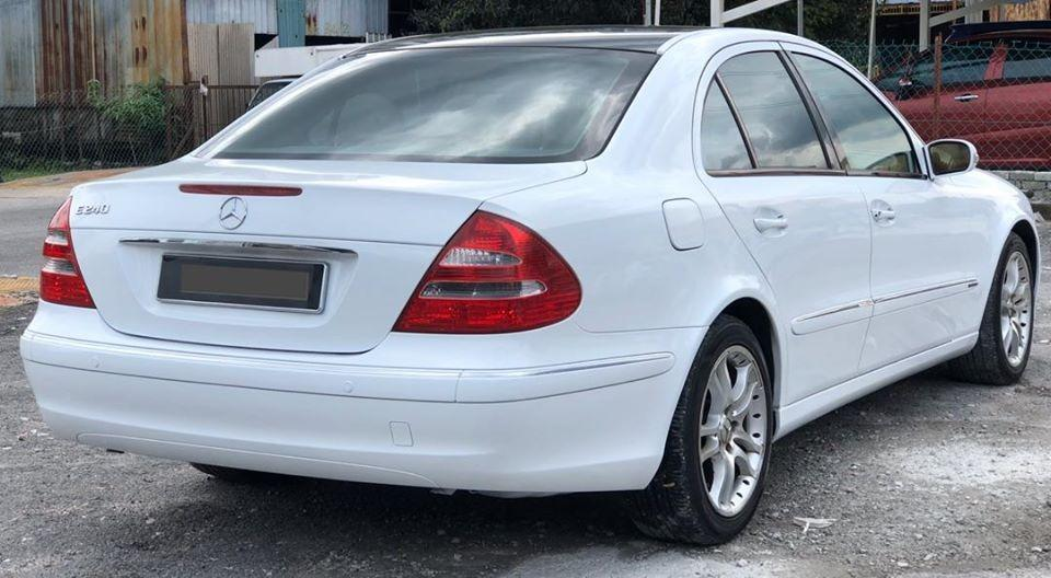 CASH/LOAN  MERCEDES BENZ E240 AVANTGARDE (CBU) 2.6 (A) 2006