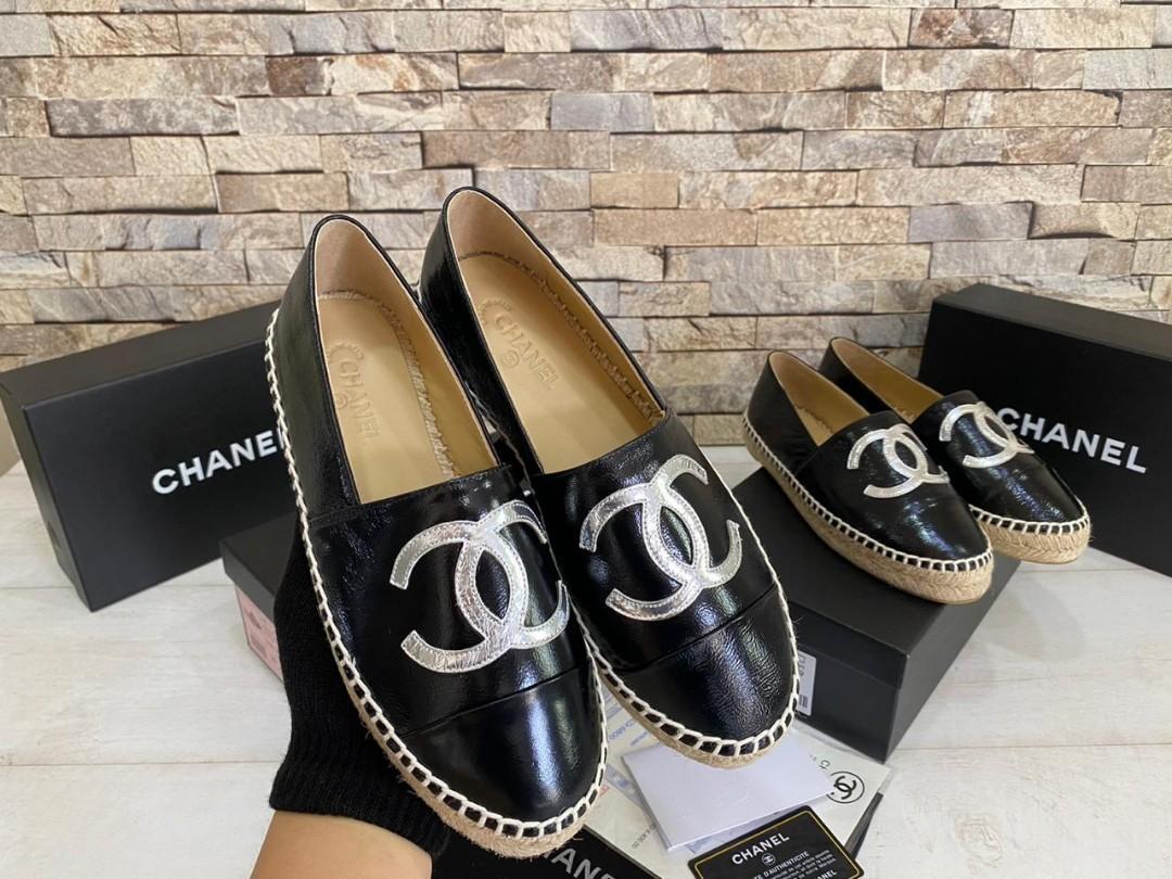 Chanel Espa C6858, SUPERMIRROR, 35-40,  H  @750rb (Standar Size)  insole : 35=22.5cm 36=23cm 37=23.5cm 38=24cm 39=24.5cm 40=25cm