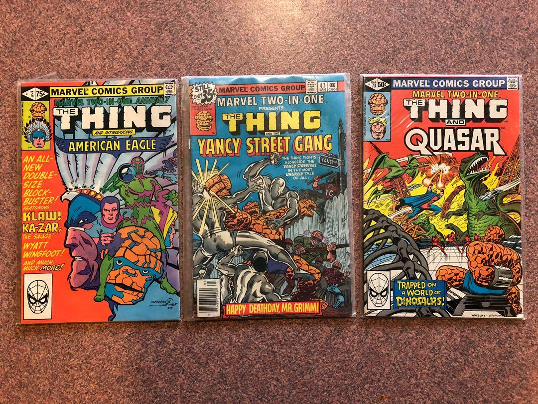 Classic Marvel Comics - Marvel Two In One & The Darkness