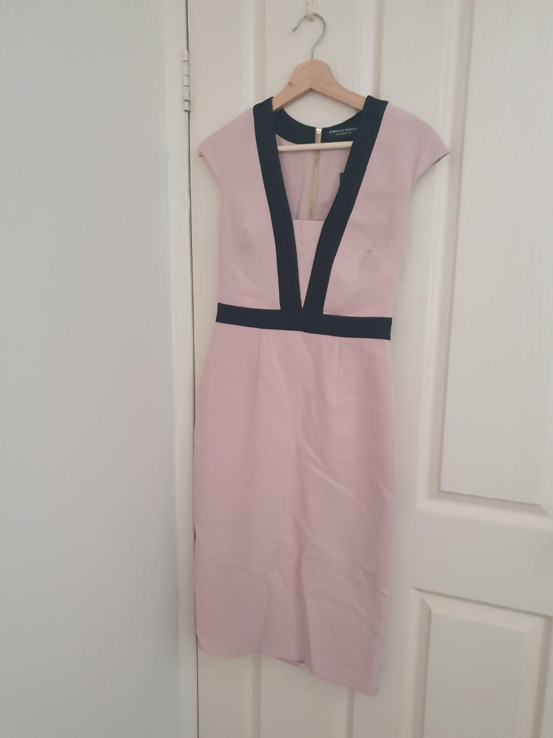 Dorothy Perkins pink and black dress new with tags