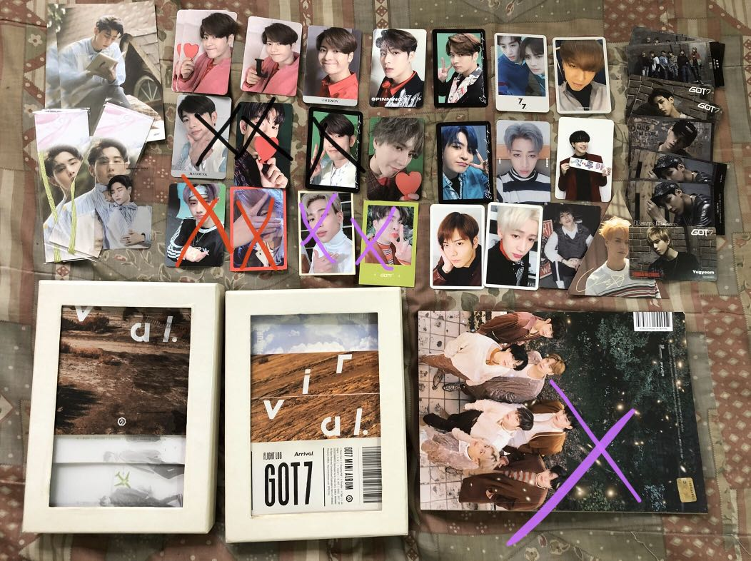 WTS GOT7 OFFICIAL YOU CALL MY NAME PHOTOCARD :Other Photocard& poster