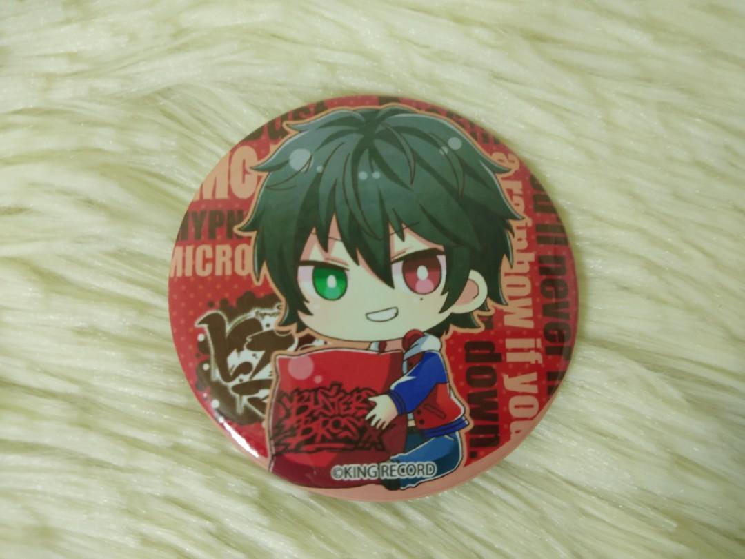 Hypnosis Mic Buster Bros Ichiro Jiro Saburo Yamada Badge