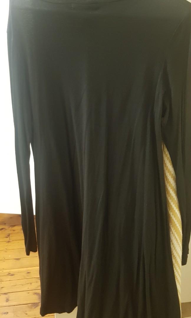 Long sleeve swing dress from sportsgirl size small