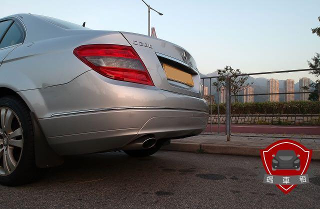 >>搵車租>>   M-Benz C200 租車 日租 月租  Auto