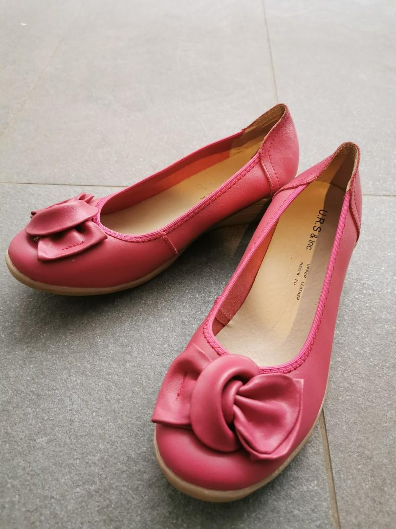 (New) Japanese Style Sweet Rose Casual Leather shoes