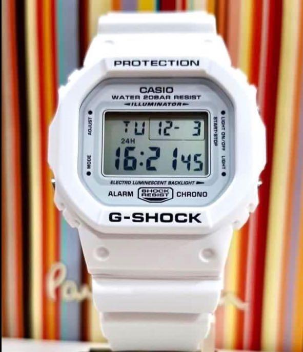 NEW🌟COUPLE💝SET : BABY-G G-SHOCK DIVER UNISEX SPORTS WATCH : 100% ORIGINAL AUTHENTIC  BABY-G-SHOCK : DW-5600MW-7 + BLX-560-7 : DW-5600-MW-7