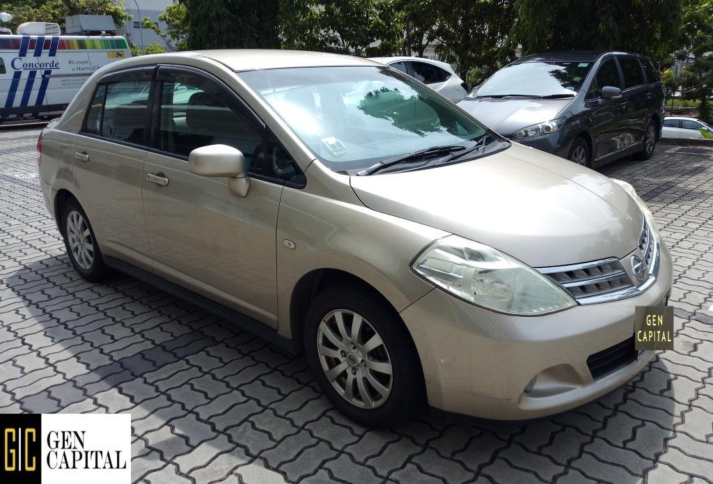 Nissan Latio - @97396107 !! !!Lowest rental rates, with the friendliest service!