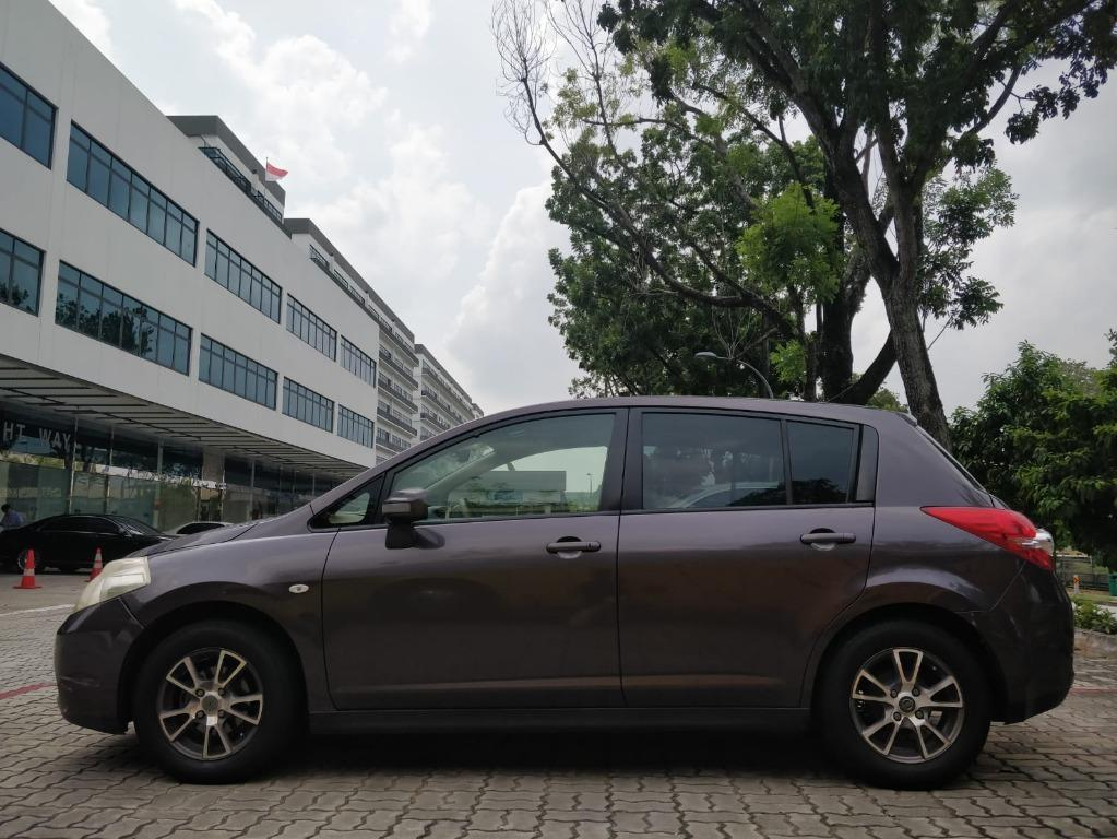 Nissan Latio Hatchback - Lowest rental rates, with the friendliest service!