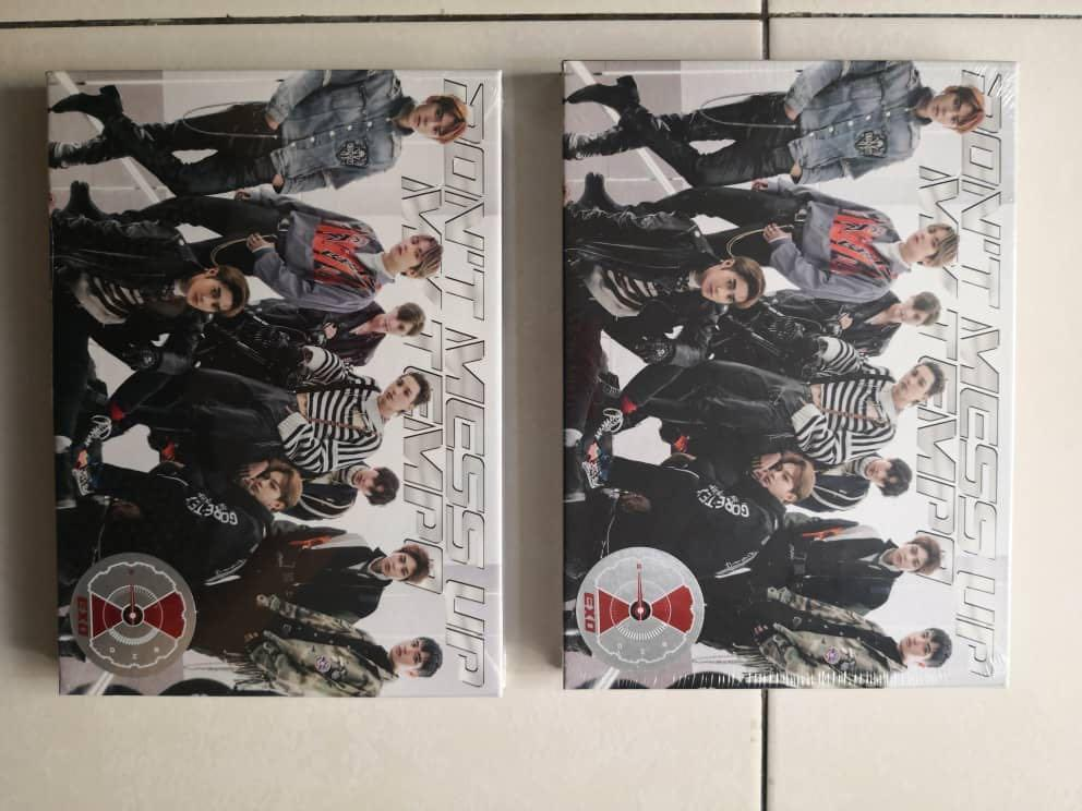 READY STOCK #EXO - DON'T MESS UP MY TEMPO album (SEAL) ~ VIVACE VER