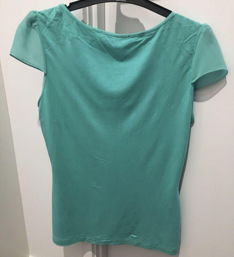 Review Top Size 10 Teal Colour - Brand New - Never Worn!