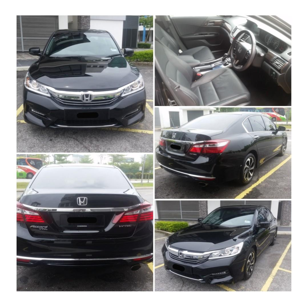 SEWA KERETA CAR RENTAL HONDA ACCORD LATEST MODEL!!