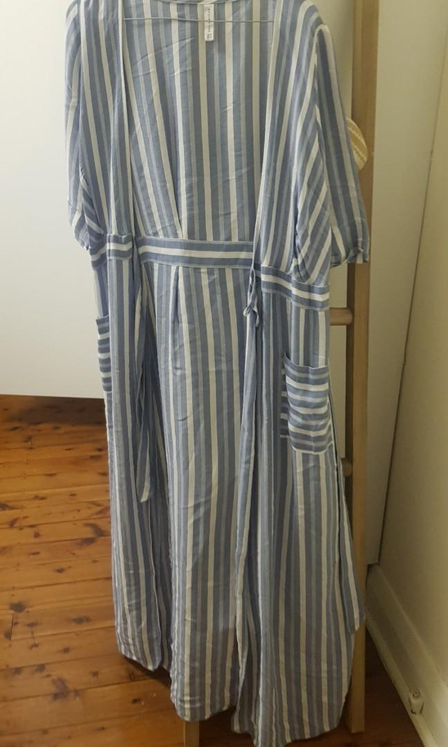 Striped wrap dress from Bec and bridge label size 10
