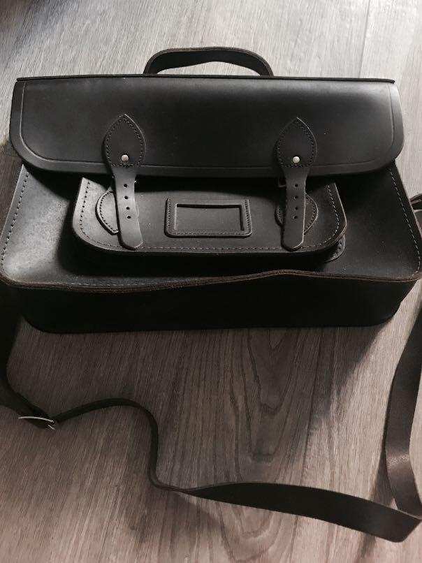 The Cambridge Satchel Company  Leather Bag 15 inch
