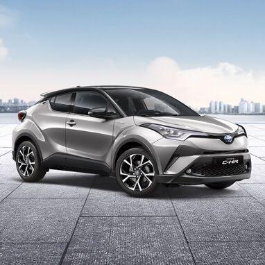 LOW deposit Toyota CHR Hybrid for long term leasing