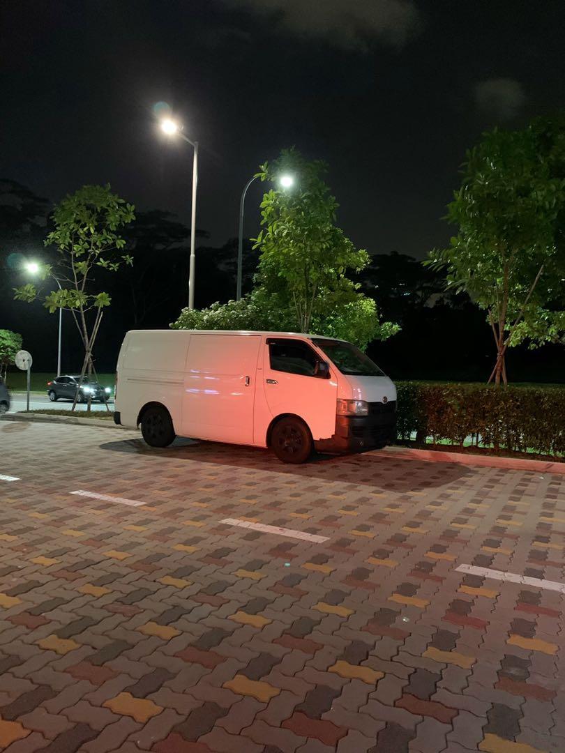 Van with driver rent
