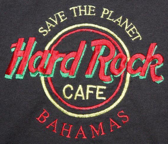 VINTAGE HARD ROCK CAFE, BAHAMAS - AUTHENTIC T-SHIRT