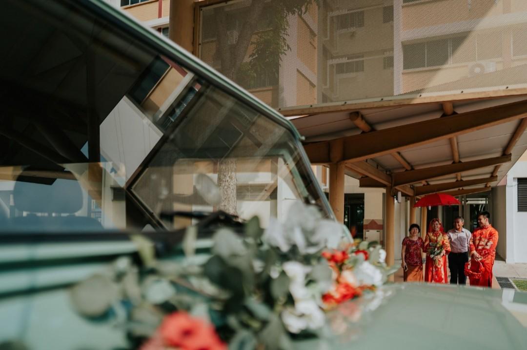 Vintage wedding car for hire/rental