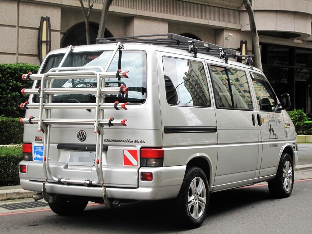 VW福斯 T4頂級 VR6 家庭式休旅車 正8人座 德國原裝進口 登山 露營 全家出遊 一次搞定
