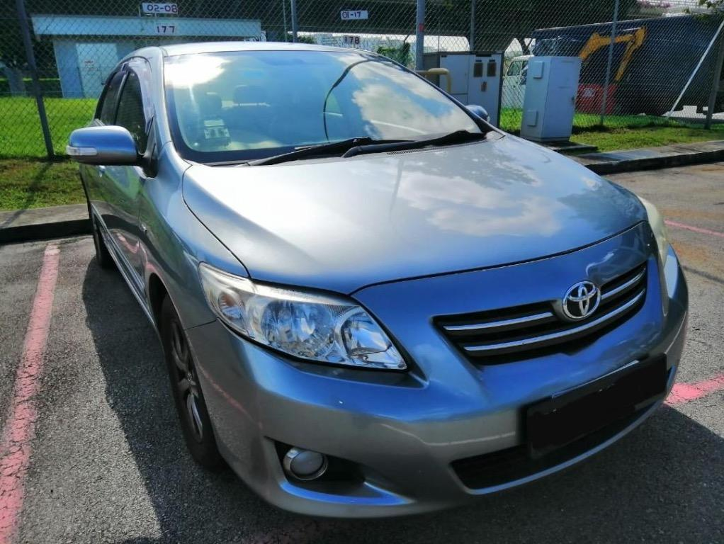 [WEEKEND SPECIAL @ $158] TOYOTA ALTIS AVAILABLE FOR RENT!