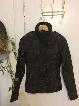 Leather Jacket - Danier (UK 4)