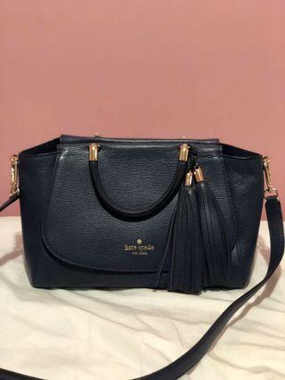 Navy Blue Kate Spade Bag