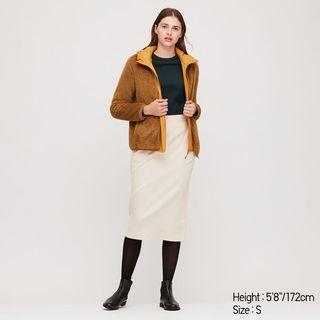 UNIQLO fluffy yarn fleece zip sweater