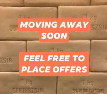 Moving away - Feel free to place offers
