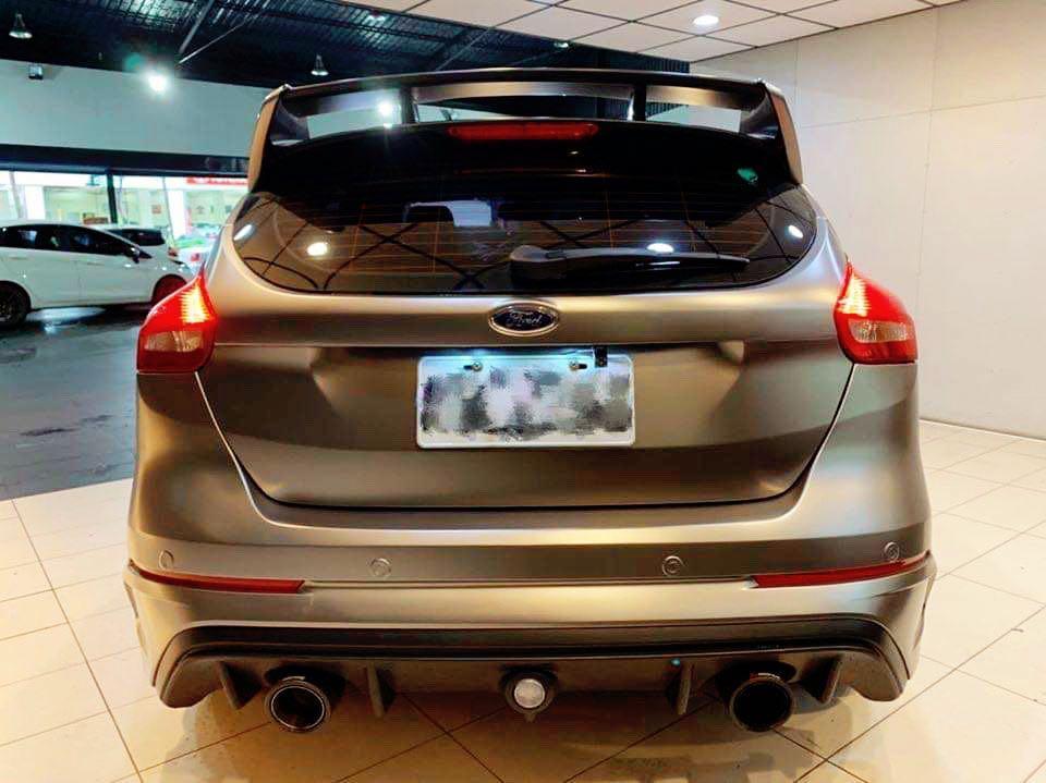 2017 Ford Focus 1.5 5D  新車價$89.9萬 消光灰