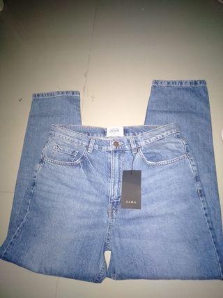 Bnwt authentic Zara mom  jeans