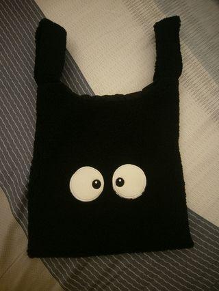 小黑碳QQ毛小包