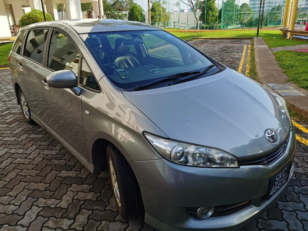 6 seaters Toyota Wish available for Chinese New Year
