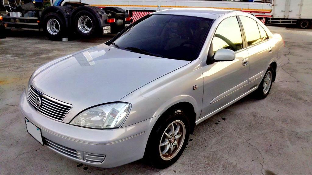 一手車 認證車 2003年 1.6 銀色 SENTRA 實跑11.1萬公里 恒溫 皮椅 倒車雷達 省油好保養代步車