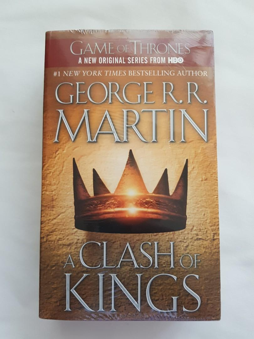 A Song of Fire and Ice: A Clash of Kings by George R.R. Martin Paperback Sealed