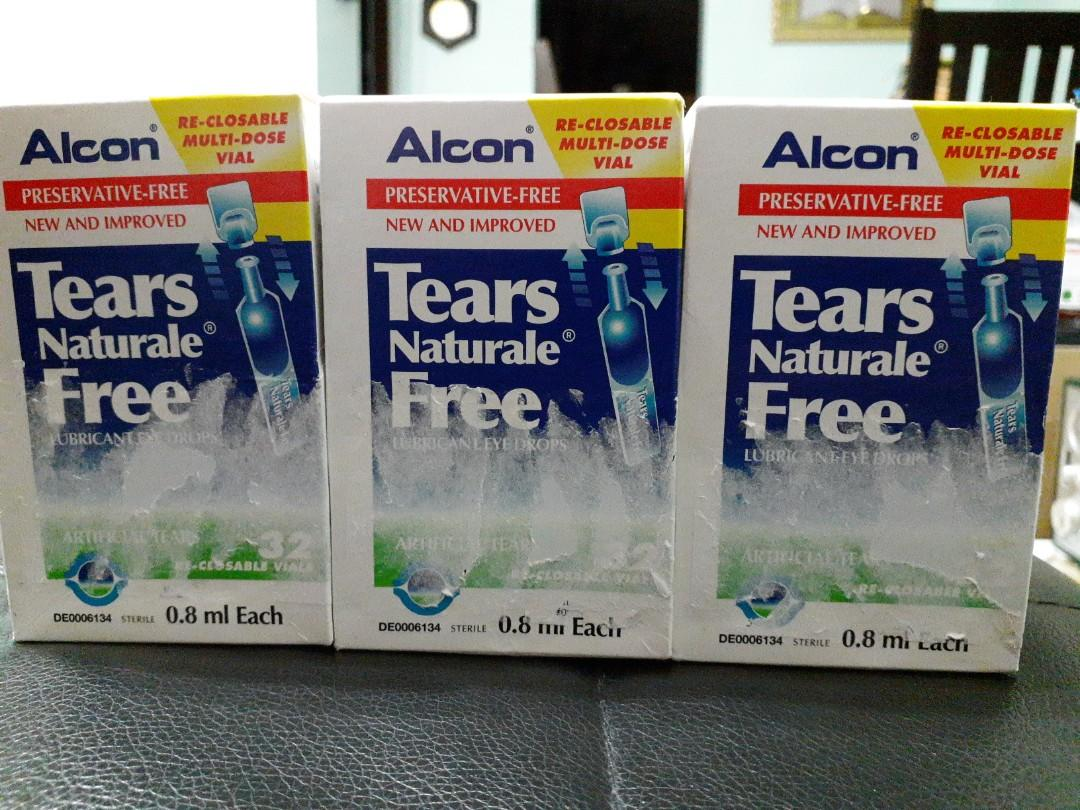 Alcon Tears Naturale Free Lubricant Eye Drops Everything Else On Carousell
