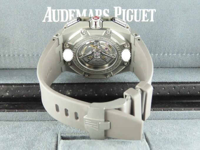 Audemars Piguet Royal Oak Offshore Chronograph Ceramic Bezel Titanium Michael Schumacher Limited Edition 44 mm