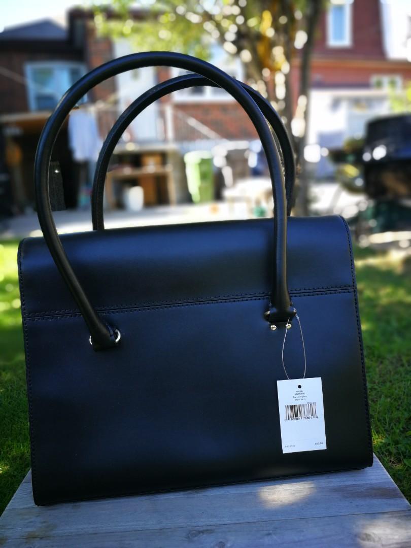 BNWT Kate Spade Hardwood Place Sinclair bag in Black
