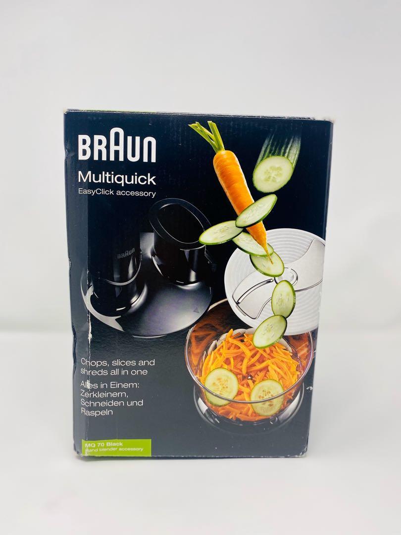 Braun MQ70BK Multiquick EasyClick Processor Accessory