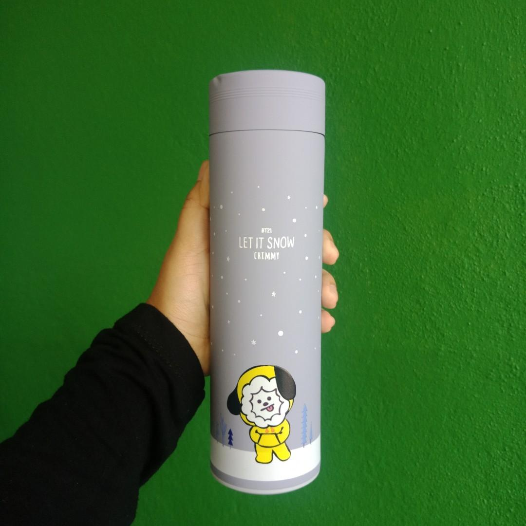 (readystock) Bt21 chimmy unofficial thermos bottle tumbler