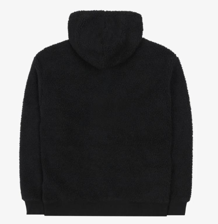 BTS FILA BOX Logo Boa Hooded T-shirt Black FS2POB4106X_BLK