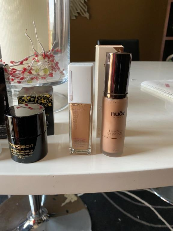 Bulk Foundations. Bobbi Brown, Napoleon Perdis, Nude by Nature, Maybelline. All New.