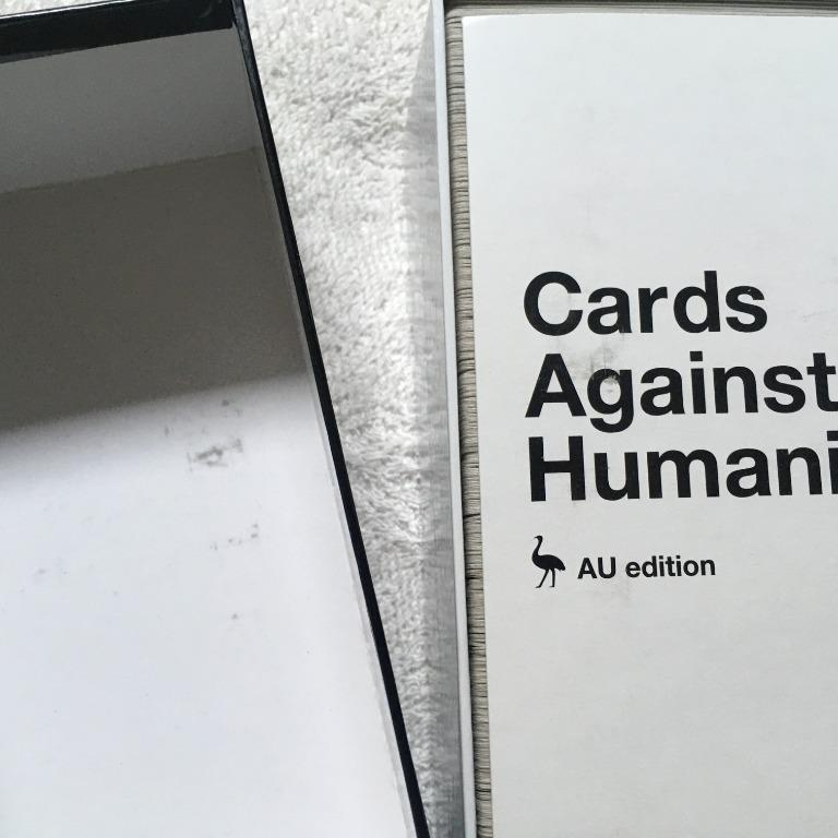 Cards Against Humanity Au Edition Main Set + Expansion 1 & 2