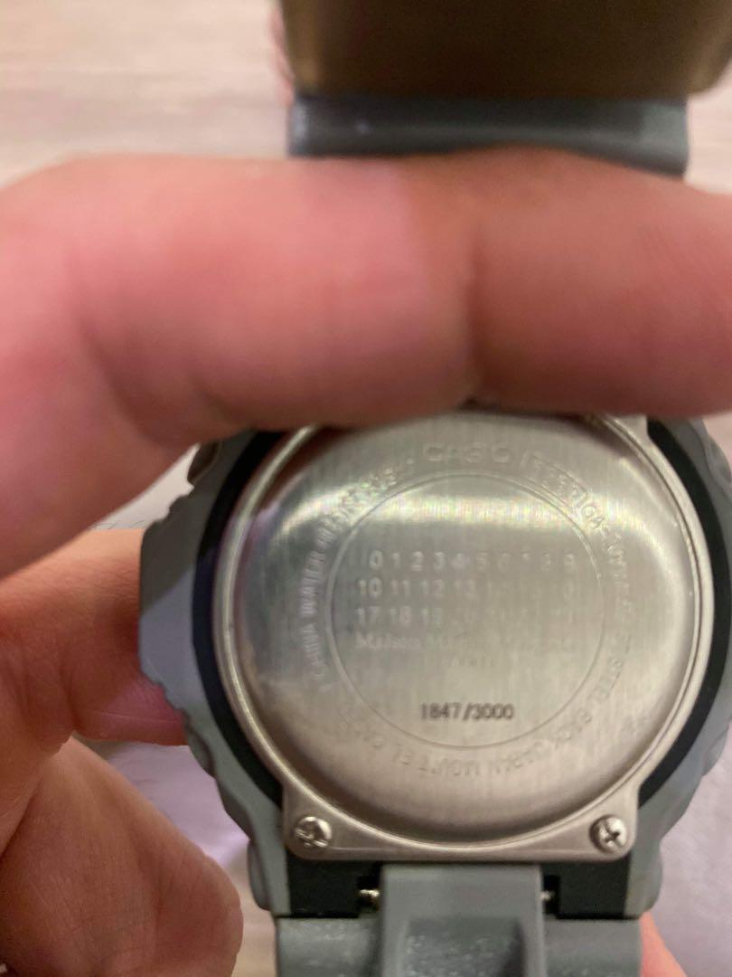 CASIO WATCH G-SHOCK x MAISON MARTIN MARGIELA GA-300MMM [Limited 3,000 units worldwide, with serial number]