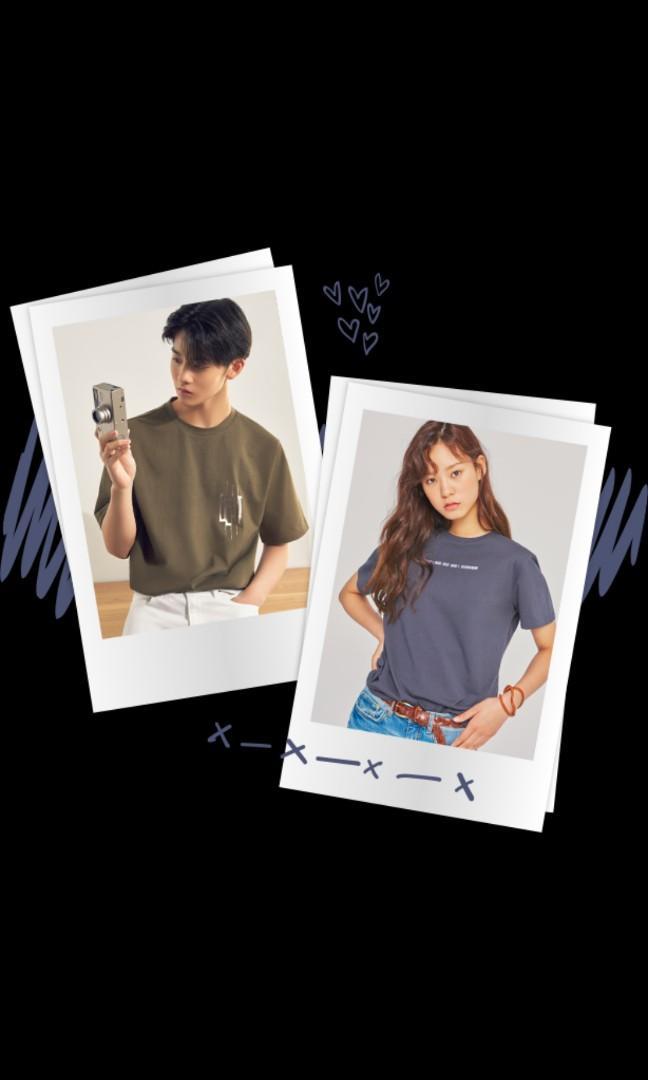 Ce& WannaOne Streaming Women T-shirt (Charcoal Grey)