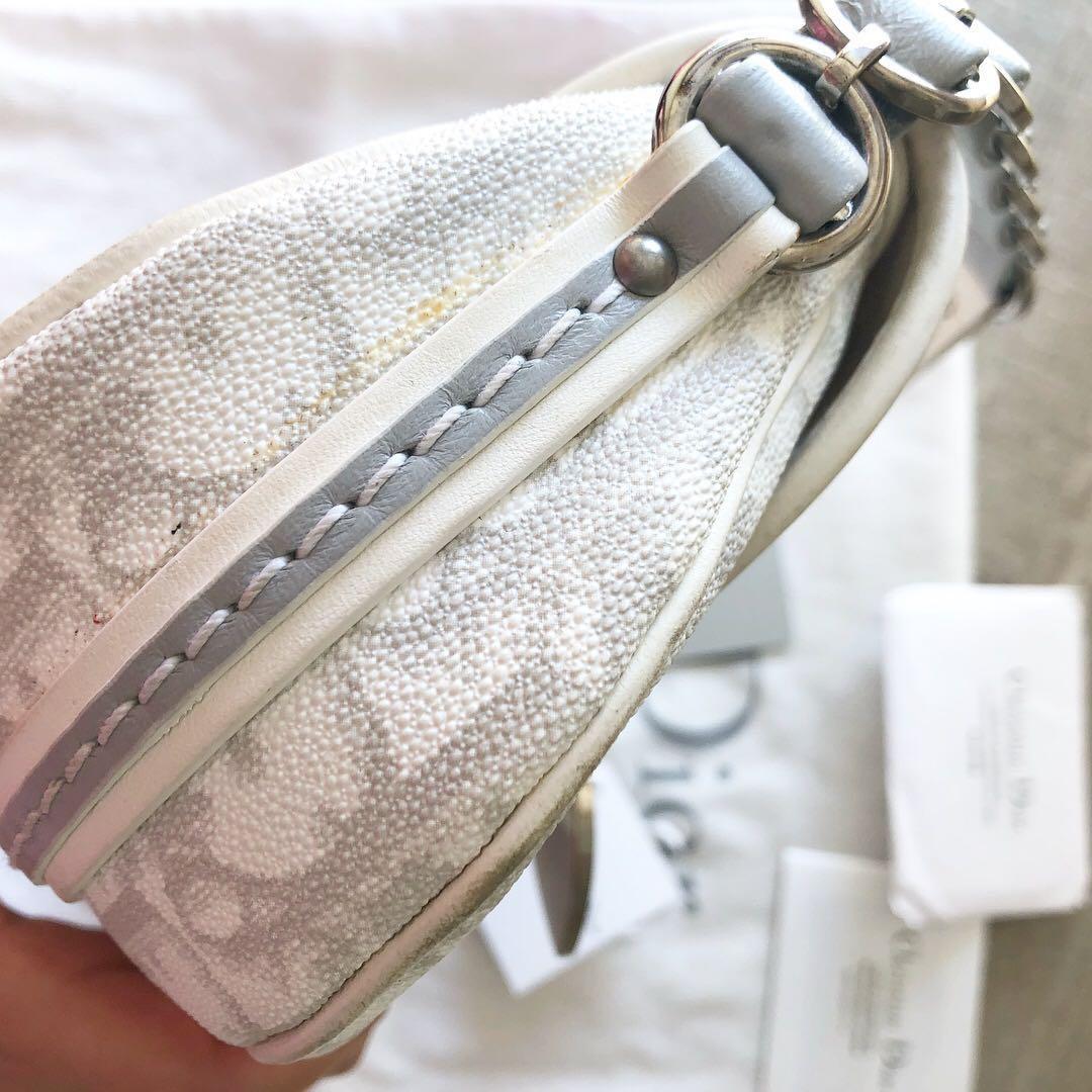 Christian Dior monogram saddle shoulder bag 100% authentic