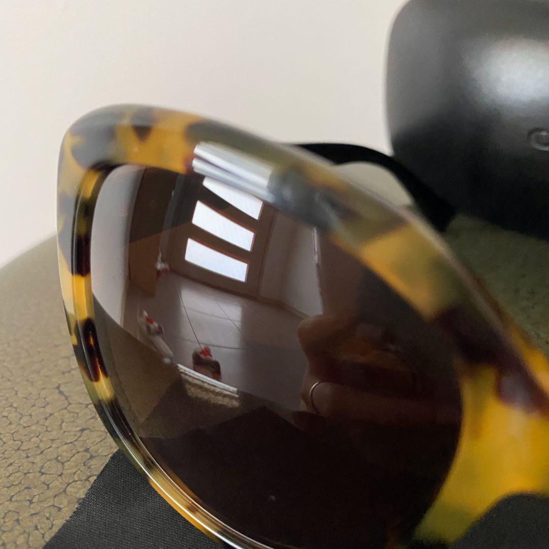 Coach vintage tortoise black sunglasses authentic BUSH FIRE APPEAL