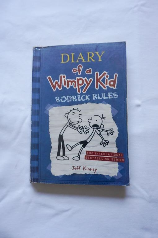 Diary Of A Wimpy Kid Rodrick Rules By Jeff Kinney Books Books On Carousell